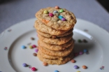 Dinkelflocken Cookies